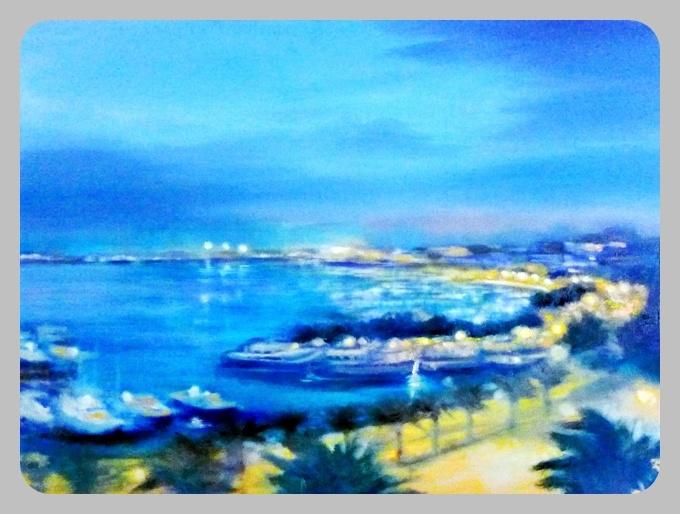 Palma, 2014, 60 x 80 cm, Öl auf Leinwand