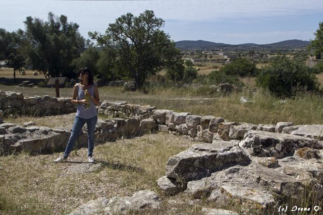 Paula Amengual, Talayot-Fundstätte Son Fornés