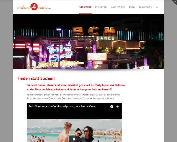 mallorca4promo.comRedesign Websitewww.mallorca4promo.com