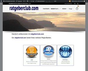 ratgeberclub.comGestaltung / Layout > Onlineshopratgeberclub.com > http://www.ratgeberclub.com