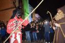 El Dimoni acecha a Sant Antoni en Son Servera