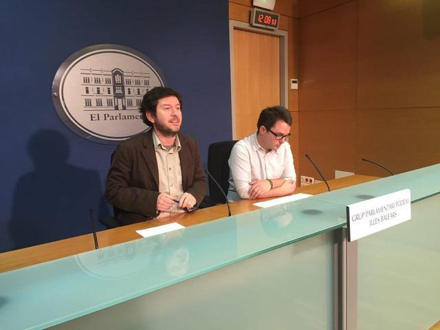 Alberto Jarabo Carlos Saura Podem Parlament