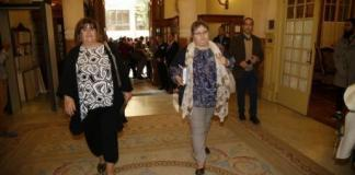 Seijas y Huertas en el Parlament