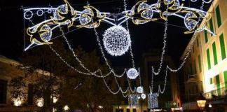 Luces navideñas en Manacor