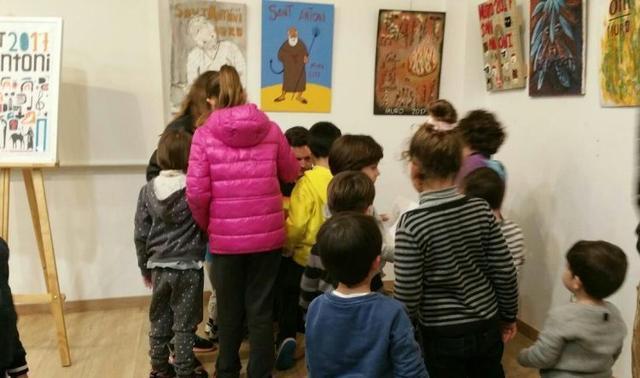 Los pequeños disfrutaron con el libro