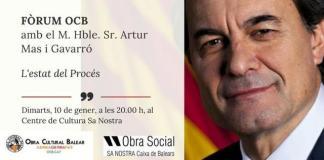 Artur Mas en el foro de la OCB