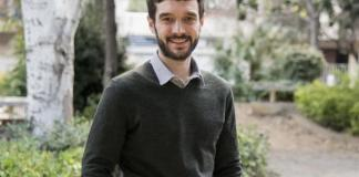 El portavoz de Exteriores de Unidos Podemos, el diputado Pablo Bustinduy