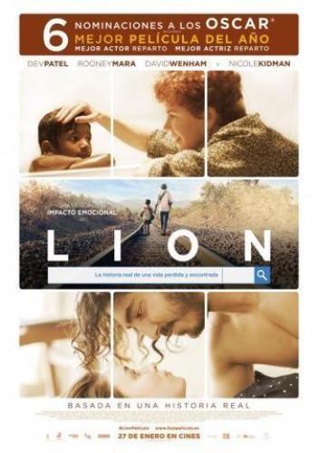 Lion con Kidman y Patel