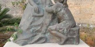 Escultura de Sor María Rafaela
