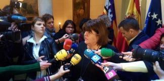 Xelo Huertas abandona el Parlament