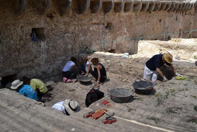 260617 excavaciones castell de capdepera