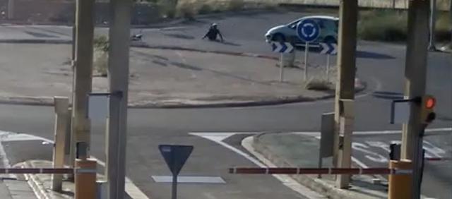 Ciclista atropellado y conductor se da a la fuga 3