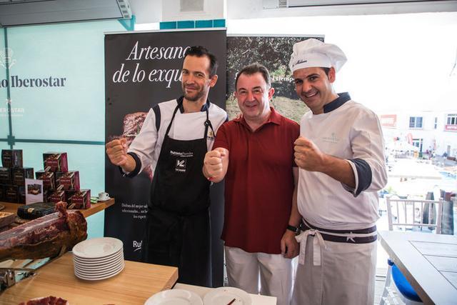 Martín Berasategui en los desayunos VIP by IBEROSTAR (Foto: Laura G. Guerra/Copa del Rey MAPFRE)
