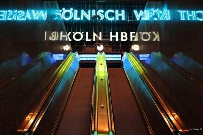 Köln, Hauptbahnhof Rolltreppe
