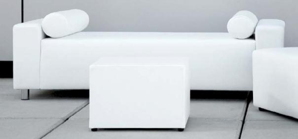 Ibiza white chillout furniture