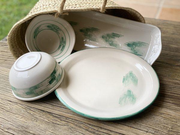 cestas-handmade-ceramica-lenguas-turquesa