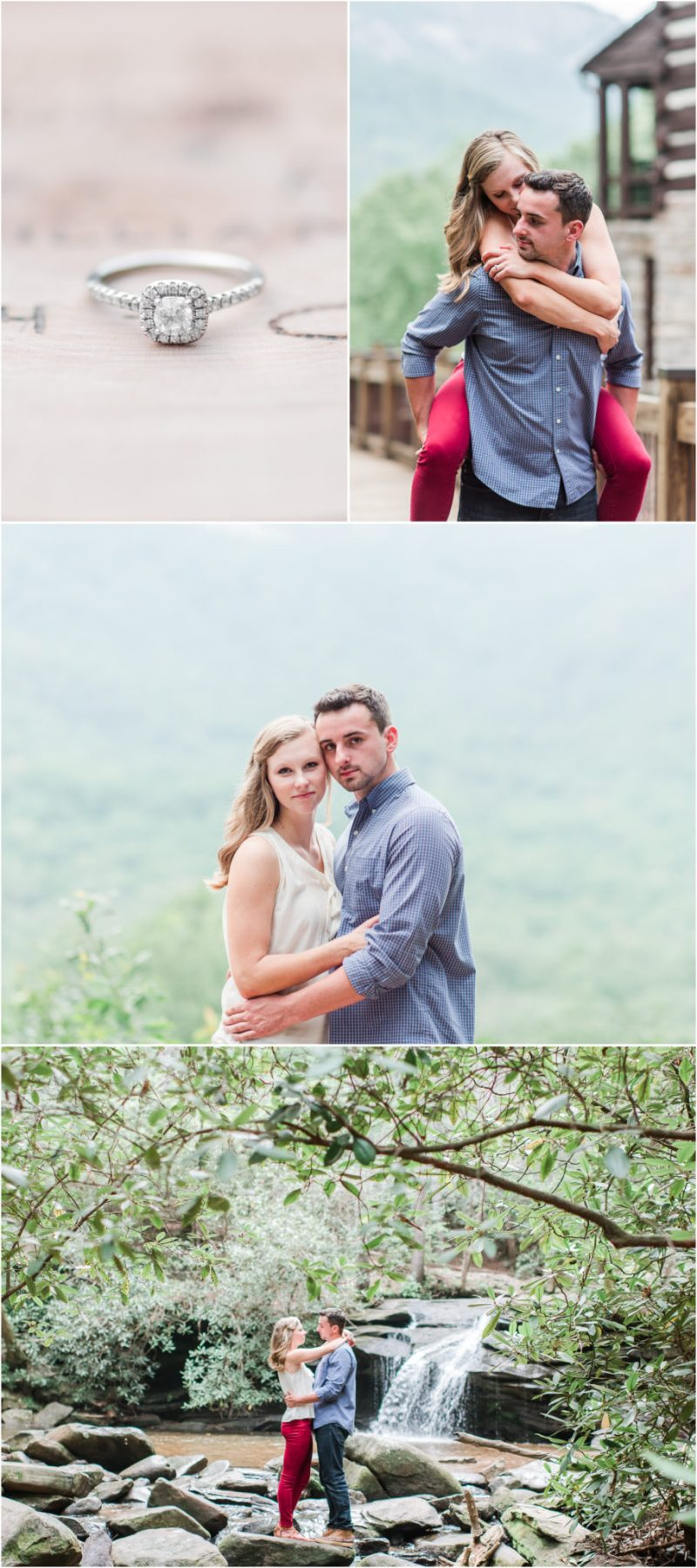 Table Rock State Park Engagement Session