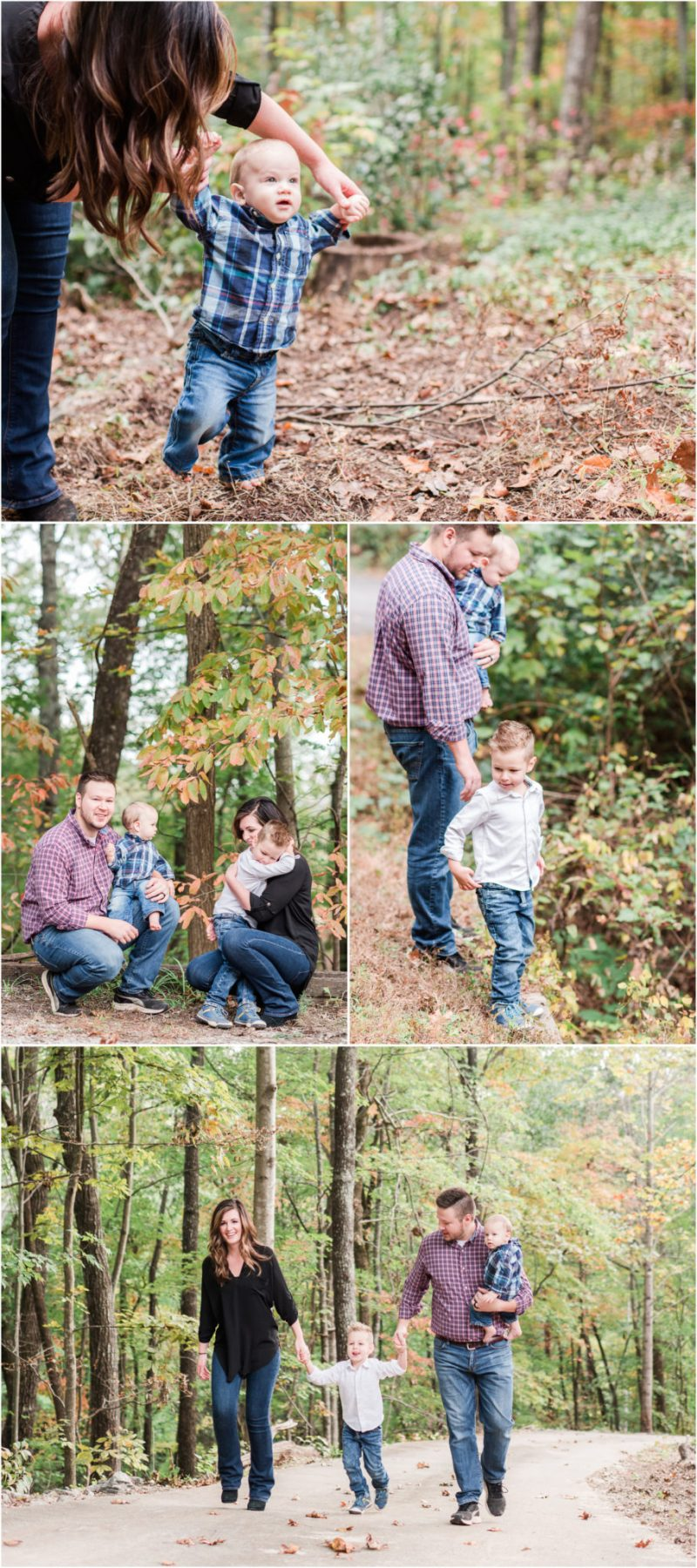 Family Session in Travelers Rest South Carolina