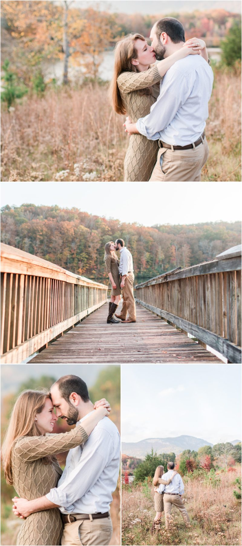 Fall Table Rock State Park Engagement Session