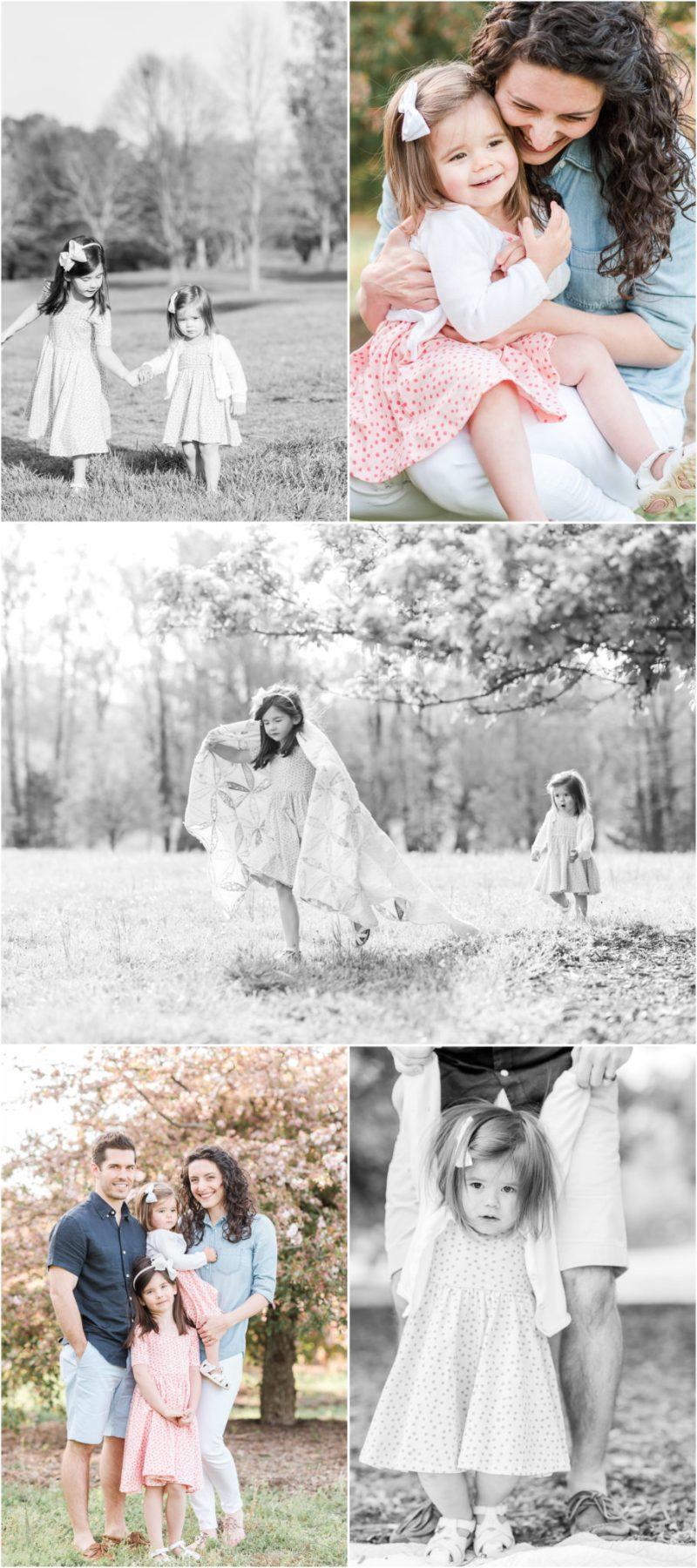 Spring Bloom Spartanburg, SC Family Session