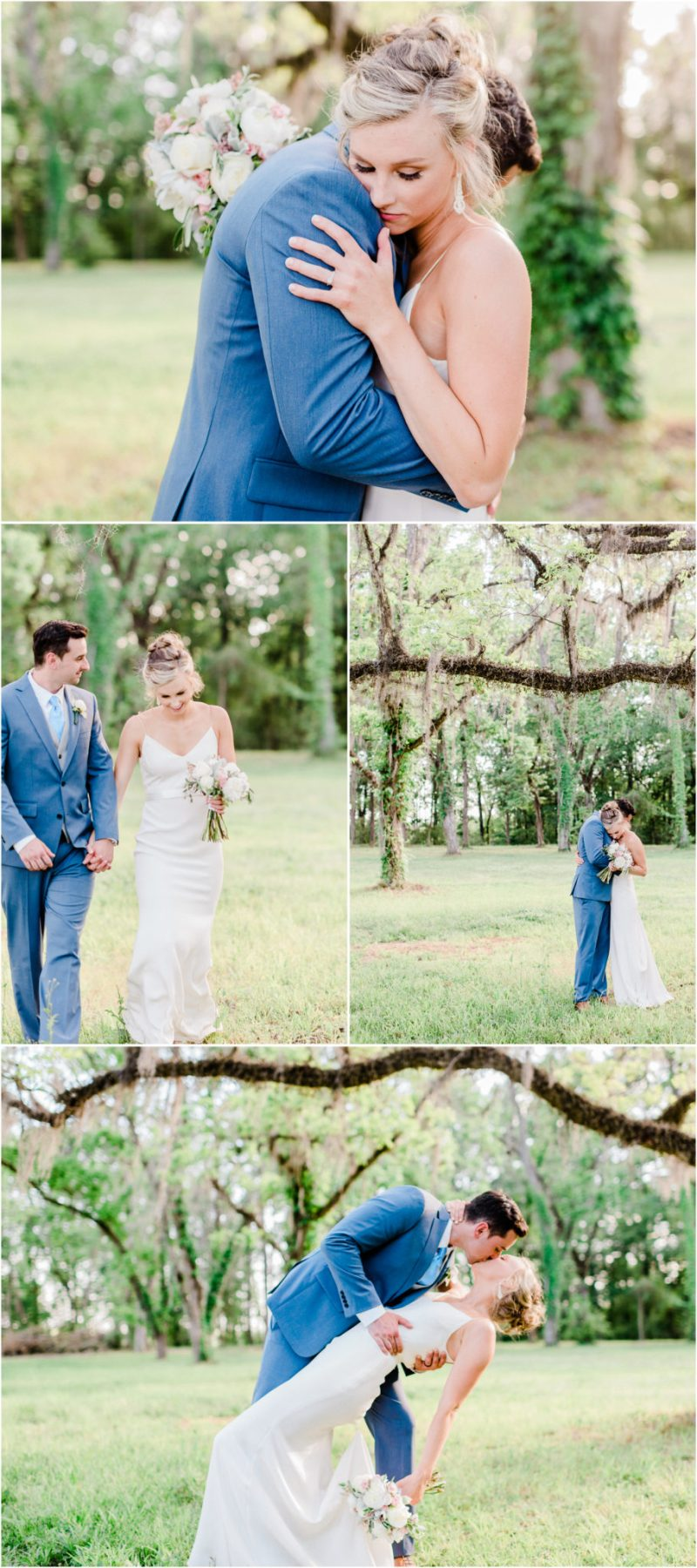Millstone at Adams Pond Wedding in Columbia, SC Bride and Groom Photos