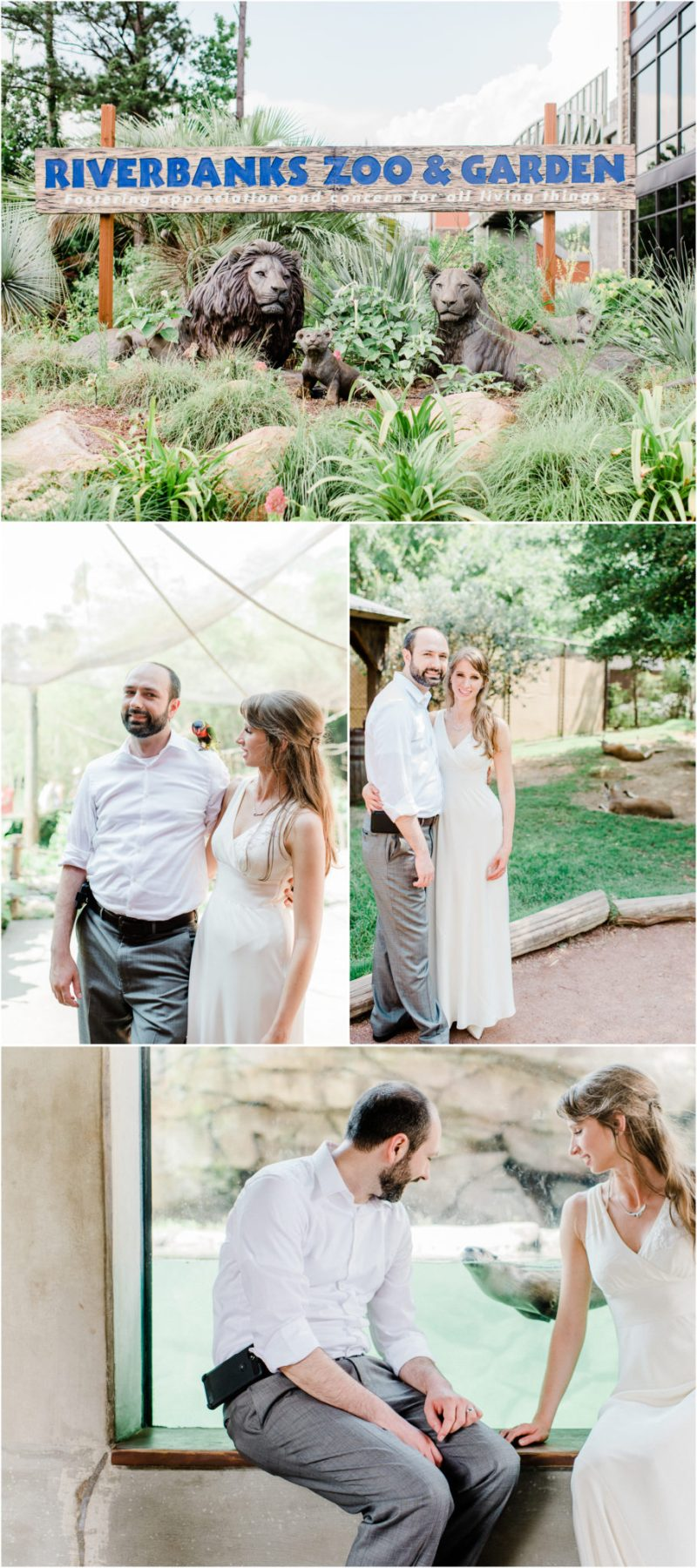 Riverbanks Zoo Wedding Columbia SC