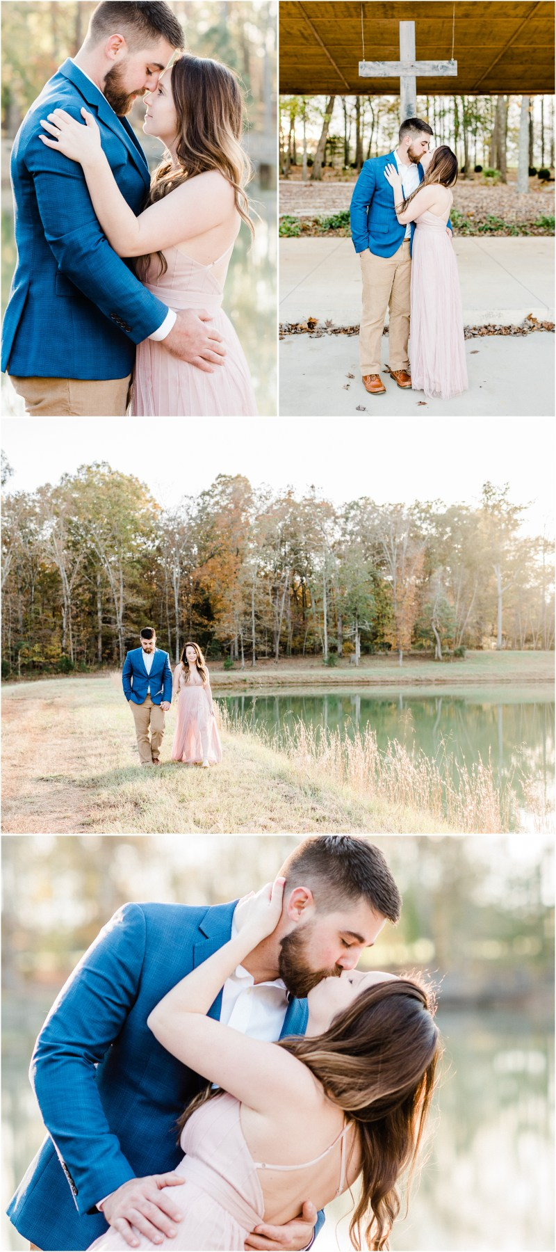 Historic Hopkins Farm Engagement in Simpsonville, South Carolina
