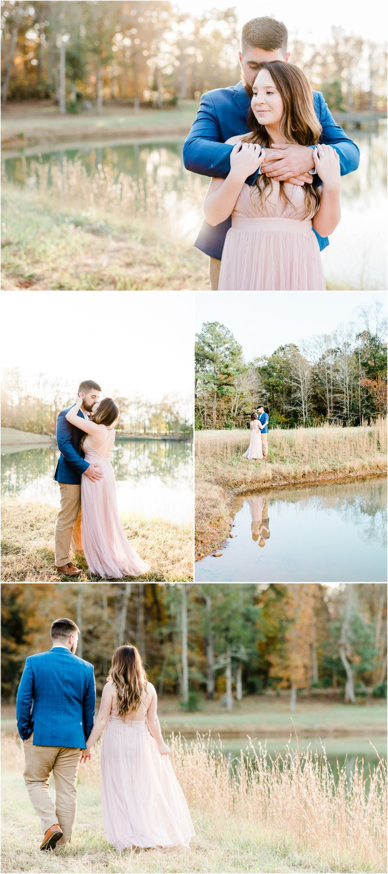 Historic Hopkins Farm Engagement in Simpsonville, SC