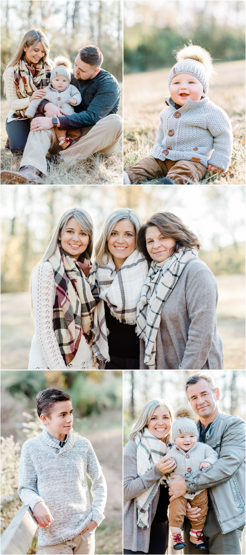 Cedar Falls Family Session in Simpsonville, South Carolina