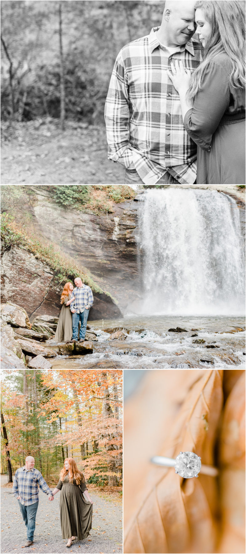 Pisgah National Forest engagement | Brevard, North Carolina