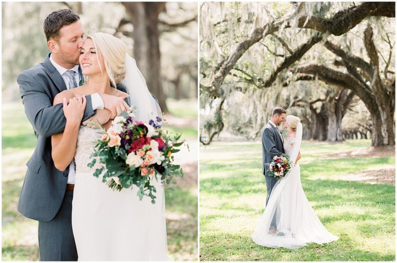 Boone Hall Planation wedding film photography