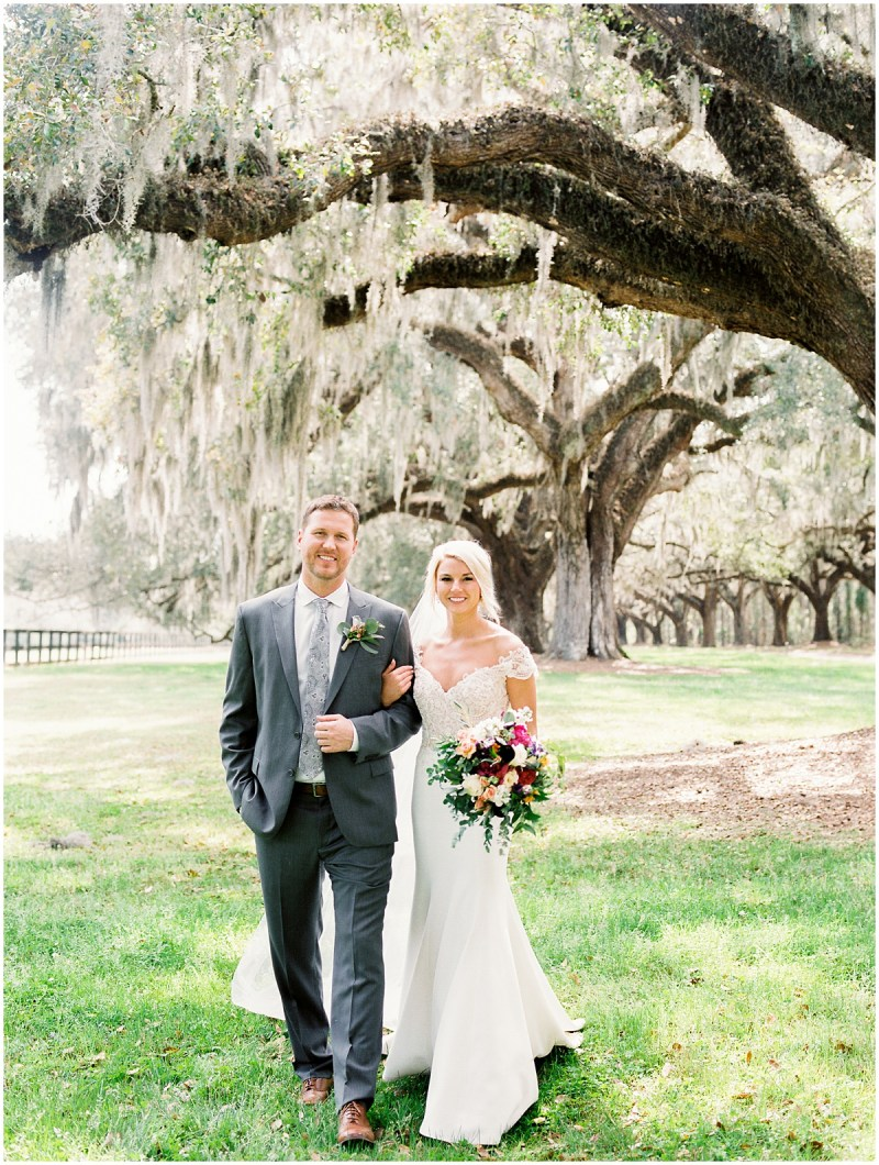 Boone Hall Plantation wedding film photography