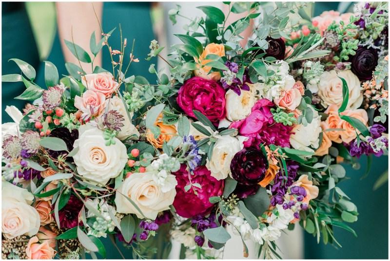 Boone Hall Plantation wedding floral design