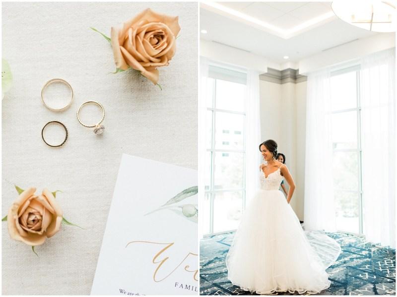 Romantic Blush L Wedding Getting Ready Photos