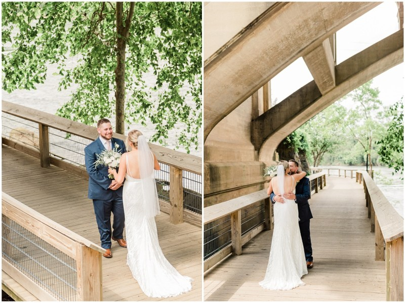 Stone River Wedding First Look