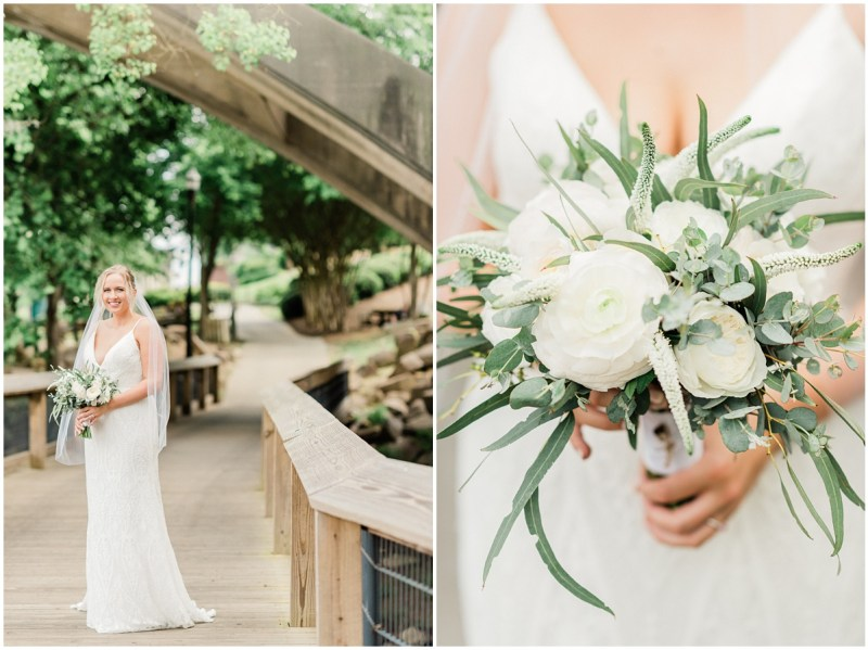 Bridal Portraits at Stone River in Columbia, SC