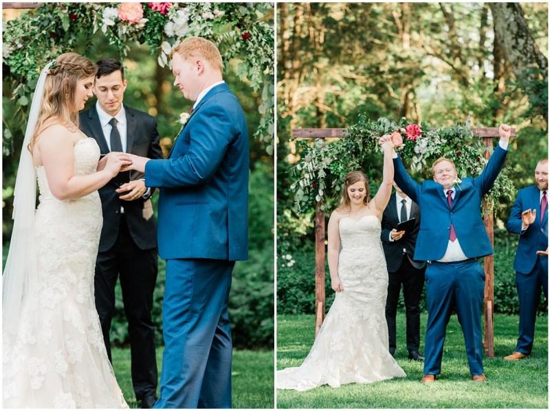 Sleepy Hollow Clemson Wedding Ceremony