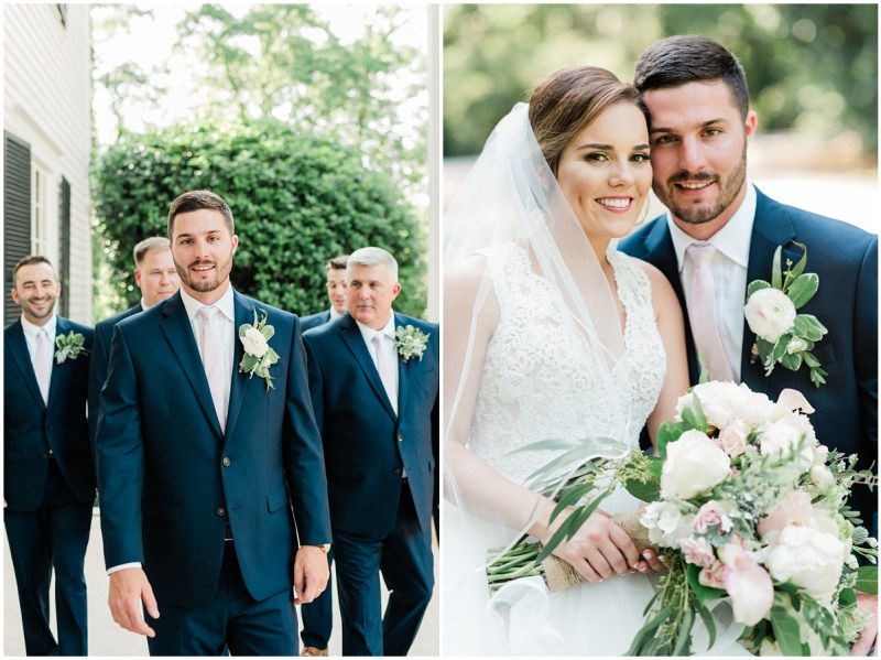 Spartanburg South Carolina wedding at Duncan Estate