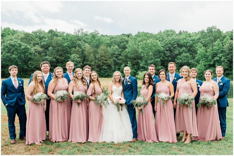 Belleview Meadows wedding bridal party photos