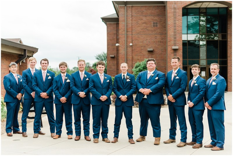 Belleview Meadows wedding Groomsmen photos