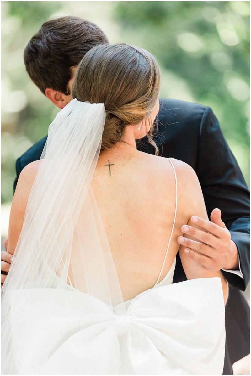Greenville SC Wedding First Look