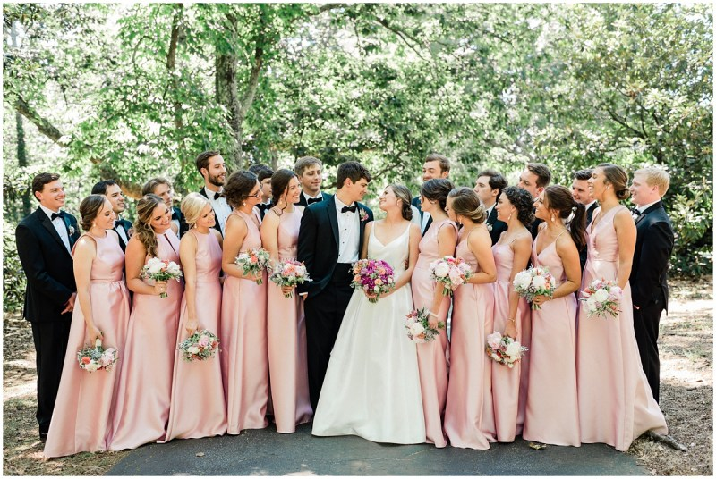 Greenville L Wedding Bridal Party