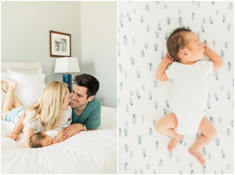 In Home Newborn Session | Greenville South Carolina Newborn Photography