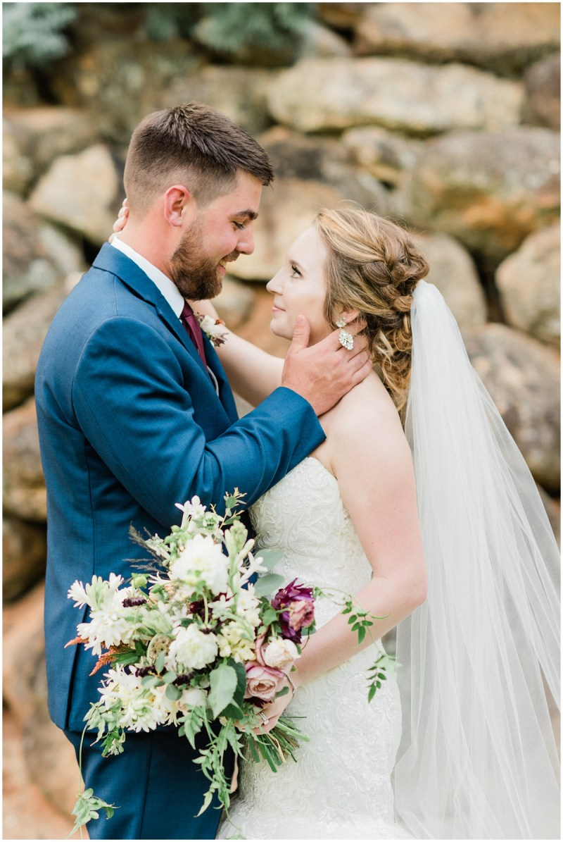 Burgundy Larkins Sawmill wedding | Greenville SC