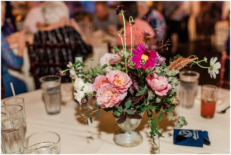Larkins Sawmill Reception flowers