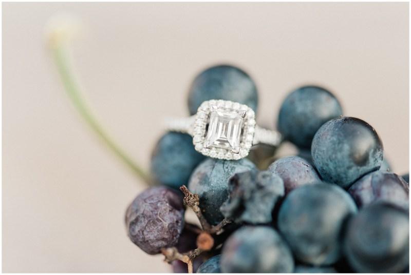 Grape ring shot
