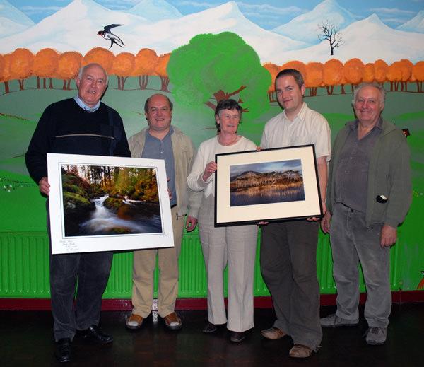 Dungarvan Camera Club members who visited Mallow Camera Club.