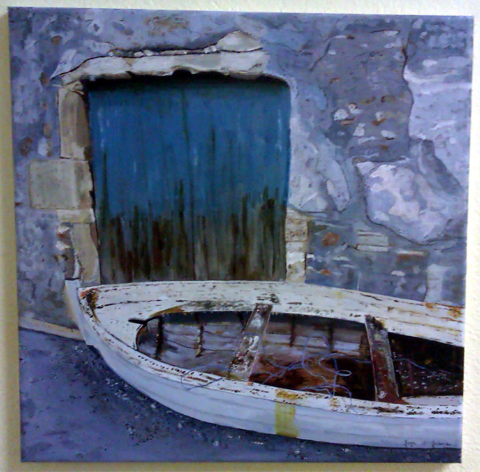 Art @MallowCollege  'Old Fishing Boat'