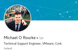 From Mallow College to VMware