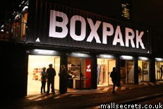 Boxpark shopping mall, Shoreditch